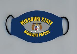 Missouri Highway Patrol Reusable Face Mask LEO Trooper Policeman Deputy Sheriff