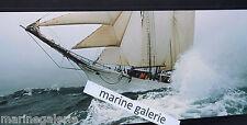 voilier déco marine nationale poster photo couleur panoramique 67cm fab Bretagne