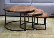 Beistelltisch metall holz rund  Runde Satztische aus Metall fürs Wohnzimmer | eBay