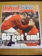 07/04/2009 Manchester United v Porto [Champions League] . Thank you for viewing