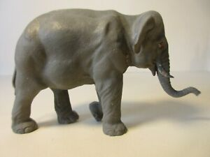 BRITAINS HERALD Plastic Zoo & Farm Animals: INDIAN ELEPHANT #1311 Early version