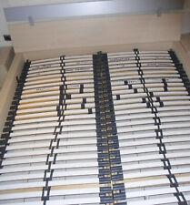 2 Lattenroste für Bett 180 x 200 cm mit verstellbarem Kopfteil