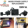 Mixers Console Power Supply Adapter Replacement For Behringer EURORACK XENYX NEW
