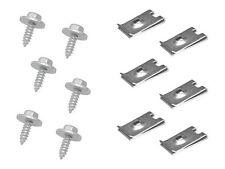 BMW Speed Nuts + Screws (6 each) ZINC body undercar shield covering fastener
