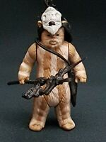 Star Wars Figure Vintage Logray Ewok Medicine Man 1983 H.K Mint Lighter Stripes