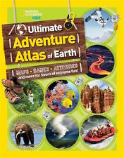 Ultimate Adventure Atlas of Earth *IN STOCK IN MELBOURNE - NEW*