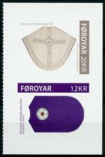 Faroes Faroe Islands Religion Stamps 2020 MNH Chasubles II Clergy Dress 2v S/A