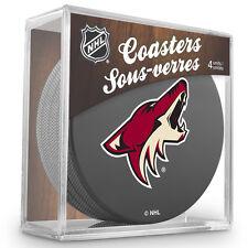 Official National Hockey League Licensed Arizona Coyotes Coaster Set
