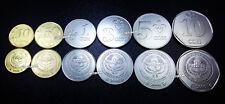 KYRGYZSTAN UNC SET OF 6 COINS 10 50 TYIYN 1 3 5 10 SOM 2008-2009