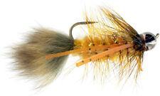 Fly Fishing Flies (Bream, Catfish, Trout, Carp, Bonefish) Carp Bugger Golden (6)