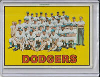 Los Angeles Dodgers 1967 Topps Baseball Team Card #503 (C)
