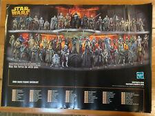 STAR WARS -ROTS poster Hasbro 2005