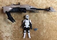 Star Wars Vintage 1983 Speeder Bike Scout Trooper Orig Weapon Kenner RTJ Taiwan