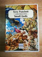 TERRY PRATCHETT '' SMALL GODS '' - 8 audio cassetttes - A DISCWORLD NOVEL.
