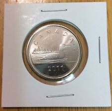 1 Royal Canadian Mint RCM 2011 Test Token Loonie RRC Mylar coin Holder Collector