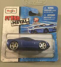 Maisto Fresh Metal 1:64 Scale Blue Car In Original Package