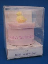 BABY'S TRINKET BOX PINK £2.99