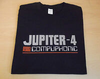 RETRO SYNTH JUPITER 4 COMPUPHONIC DESIGN T SHIRT S M L XL XXL