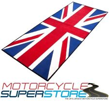 UNION JACK FLAG BRITISH CLASSIC MOTORCYCLE WORKSHOP HOME SHED STORAGE GARAGE MAT