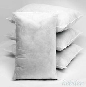 "Hollowfiber Cushions Pads Inners Inserts Oblong 12""x18"",14""x18"",14""x20"",14""x24"""