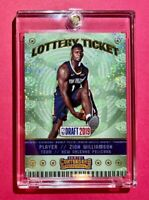 Zion Williamson ROOKIE LOTTERY TICKET SPARKLE FINISH PANINI CONTENDERS RC Mint!