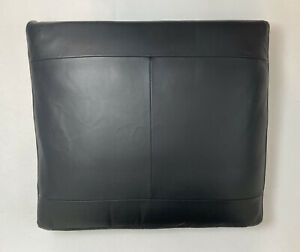 Ikea LIDHULT Seat Cushion Leather Replacement Slipcover Cover Black