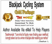 Blackjack Betting System - Gold Package - 4 eBooks - 6 Training Videos