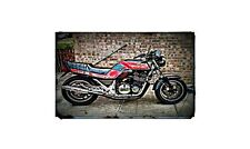 1986 gsxr Bike Motorcycle A4 Retro Metal Sign Aluminium