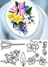 Spring Flower Set Patchwork Cutters sugarcraft NEXT DAY DESPATCH