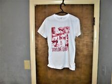 Taylor Swift : 9 Picture T Shirt Small ( S ) White With Tags