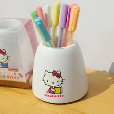 Cute Hello Kitty Pen Holder Brush Holders Desktop Decor Office School Stationery