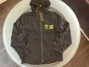 VR46 Official Valentino Rossi  Monster Hooded wind shell - Large