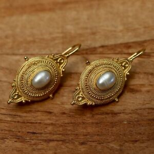 Northumbrian Pearl Earrings: Museum of Jewelry