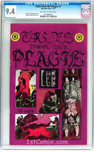 TALES FROM THE PLAGUE, CGC 9.4 (HIGHEST/ONLY), 1ST, UNDERGROUND, RICHARD CORBEN