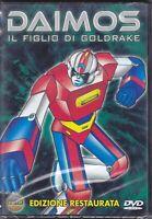 Dvd DAIMOS ♦ IL FIGLIO DI GOLDRAKE ediz. restaurata nuovo sigillato 1979