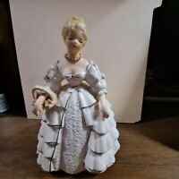 Rare Vintage National Potteries Ceramic Southern Belle Figurine C5941