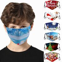 Weihnachten Mund Stoffmaske Wiederverwendbare Maske Stoffmaske Waschbar schutz