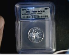 2000-S US Massachusetts Silver State, Washington Quarter, PF68 DCAM (US-732)