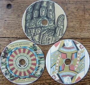 3 DVD SPECIAL Fortune Telling Dream * Palmistry Phrenology * Tarot Playing Cards