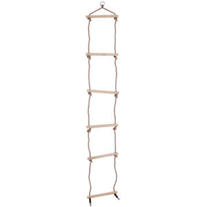 Bigjigs Toys Children's Rope Ladder Outdoor Climbing Frame Tree House Play