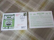 Celtic V HONVED 1988 Centenario Coppa dei Campioni 2nd gamba CALCIO PRIMO GIORNO DI COPERTURA