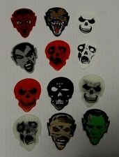 24 MONSTER GUITAR PICKS from HOT PICKS USA - COLLECTABLE AND RARE - 2 FULL SETS