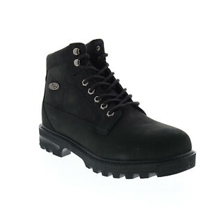 Lugz Brigade Hi MBRIGHN-001 Mens Black Synthetic Lace Up Casual Dress Boots