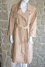 Manteau beige rosé neuf taille M/L marque ORFEO étiqueté à 149€ (sg)