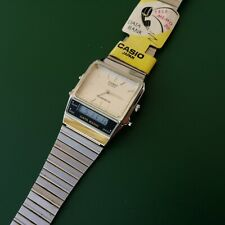 RELOJ CASIO VINTAGE AB-100 DATA BANK WATCH COMO NUEVO!! VERY RARE