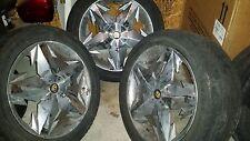 "Lexani Marqi 20"" inch used rims wheels chrome"