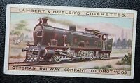 Ottoman Railway Company   Turkey   Tank Engine    Original 1913 Vintage Card