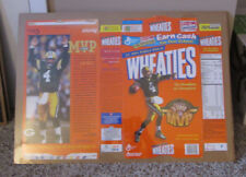 VINTAGE WHEATIES BOX BRETT FAVRE 3 TIME MVP SHRINK WRAPPED PACKERS MAN CAVE
