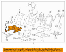 Chevrolet GM OEM 10-15 Camaro Driver Seat-Seat Adjuster Left 13506147