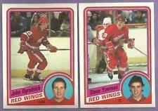 1984-85 OPC Detroit Red Wings Team Set